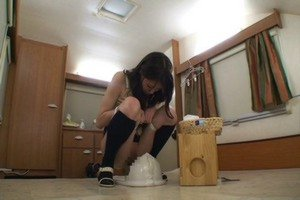 Japanese girls scat compilation