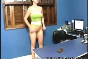 Amateur video of pooping girlfriends