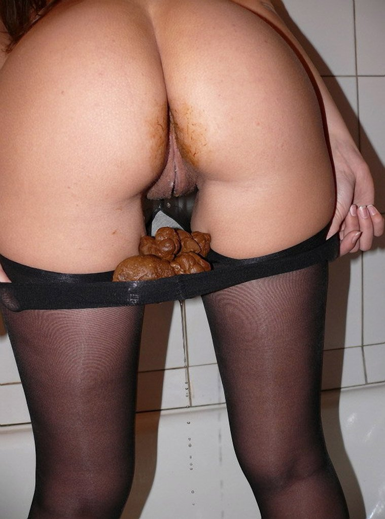 Panty piss poop naked pussy